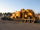 حمل ماشین الات سنگین توسط شرکت حمل ونقل خلیج فارس ترابر