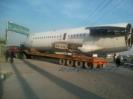 حمل قسمتی از هواپیما فوکر