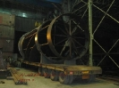 توربین به وزن 60تن و قطر 5 متر حمل از اصفهان به نیروگاه دماوند