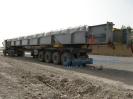 قطعات پیش ساخته نیروگاهی به طول 30متر حمل از هشتگرد به بندر امام