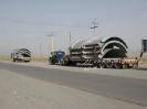 قطعات پیش ساخته نیروگاه به عرض 5.5 متر و وزن 36 تن حمل از هشتگرد به بندر امام